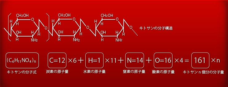 キトサンの分子量